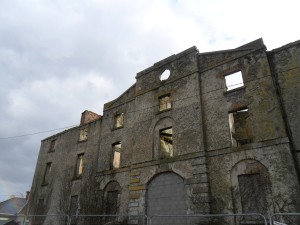 Hotel Ruins Shannon Harbour