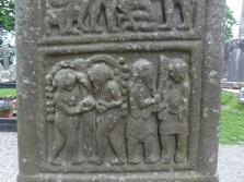 Detail on High Cross, Monasterboice