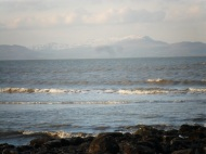 Distant Snow Capped Mountains, Dunany, Co Louth