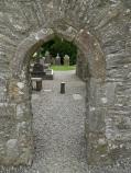 Doorway Monasterboice, Co Louth