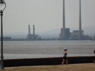 Ringsend Chimneys and runner