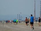 Ringsend chimneys runners and heart monitor
