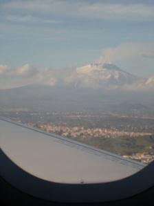 Smouldering Mount Etna