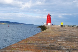 Running to the lighthouse