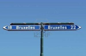 Bruxelles signpost