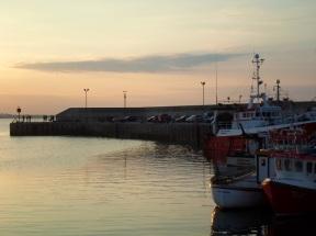 Evening Clogherhead Pier Co Louth