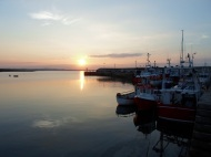 Sunset Clogherhead Pier Co Louth