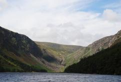 Glenadalough Lake, Hills