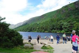 Tourists at Glendalough