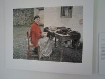 Claddagh Woman Fringing a Shawl