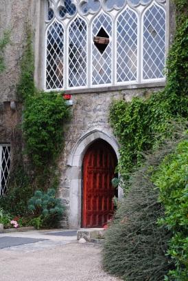 Front window Malahide Castle