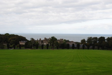 1.Ardgillen Castle overlooks the Irish Sea