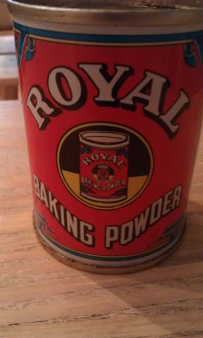 Baking Powder Tin Brother Hubbards