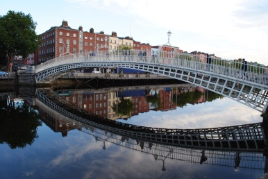 Ha`penny Bridge Dublin