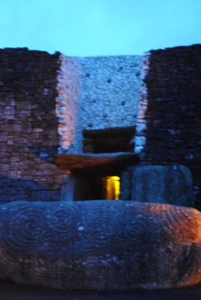 The Entrance to Newgrange Tomb