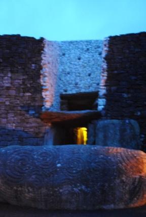 The Entrance to Newgrange Tomb