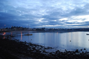Skerries Dusk January