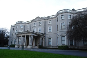 Farmleigh house facade