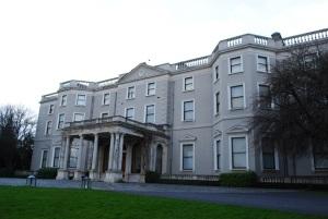 Farmleigh house facade