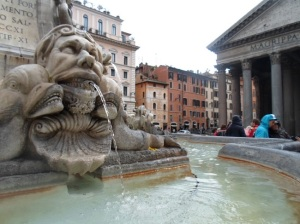 Detail outside pantheon