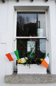 Patrick`s Day Window