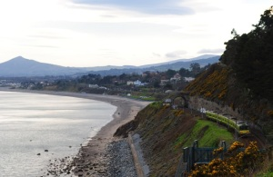 Railway Line from Dalkey to Killiney