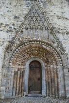 Front view clonfert cathedral doorway