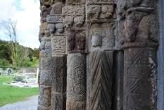 Left of doorway