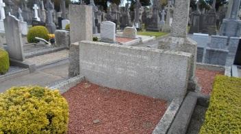 Maud Gonne`s grave