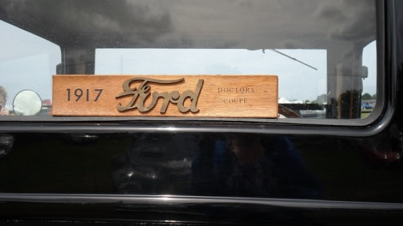 1917 Ford The Doctor`s Coupe