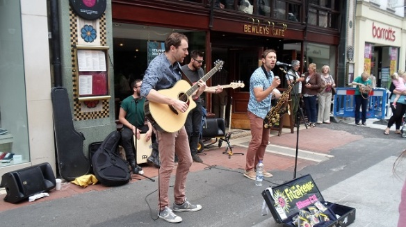 Buskers Grafton St