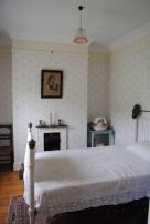 Bedroom in the Hughes' homestead