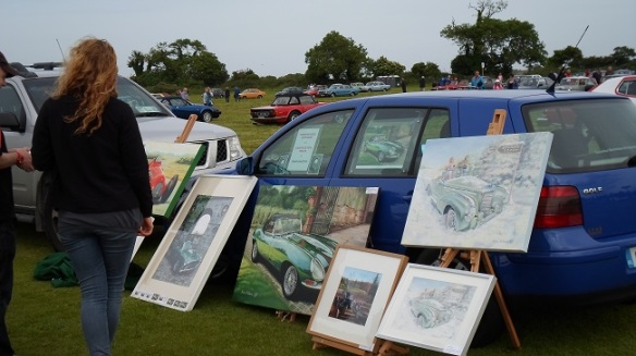 Paintings for the vintage car enthusiast