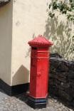 Royal British Mail postbox