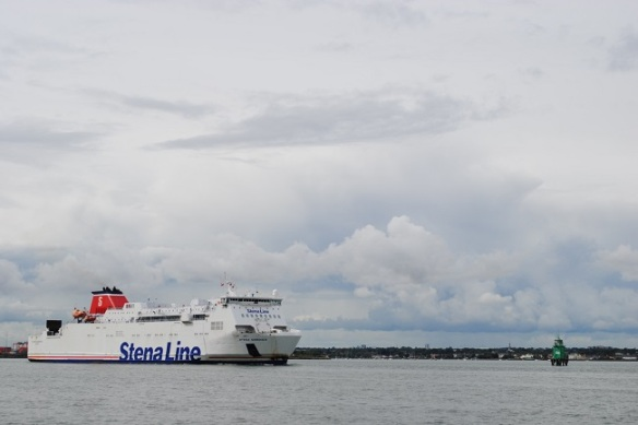 Stena heading out of Dublin Port