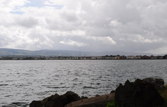 View of Sandymount from Sean Moore park